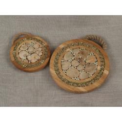 Dessous de plats décoré